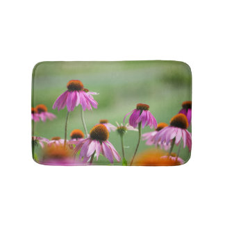 Eastern Purple Coneflowers Bath Mat