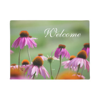 Eastern Purple Coneflowers Doormat