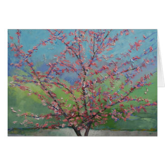 Eastern Redbud Tree Card