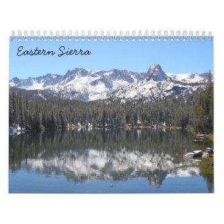 Eastern Sierra 2018 Calendar