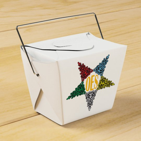 Eastern Star favour boxes