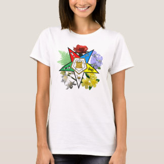 Eastern Star Floral T-shirt