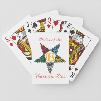 Eastern Star playing cards