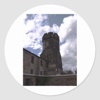 Eastern State Penitentiary Round Sticker