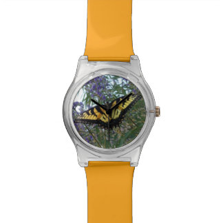 Eastern Tiger Swallowtail Butterfly Wrist Watches