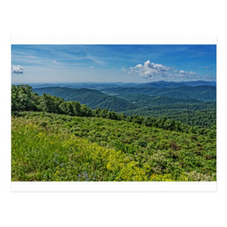 Eastern View from Shenandoah National Park Postcard