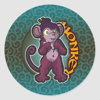 Eastern Zodiac - Monkey Sticker