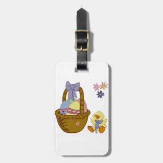 Eastertime Luggage Tag