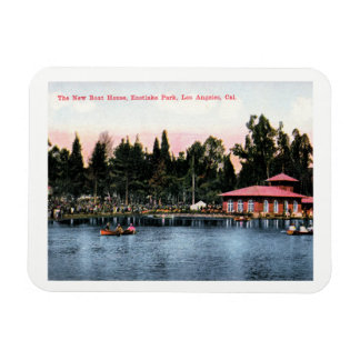 Eastlake Park, Los Angeles, California Vintage Magnet