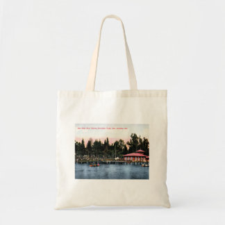 Eastlake Park, Los Angeles, California Vintage Tote Bag