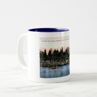 Eastlake Park, Los Angeles, California Vintage Two-Tone Coffee Mug
