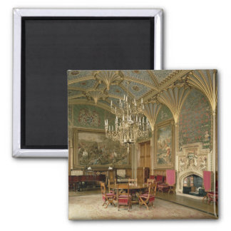 Eastnor Castle, Herefordshire: the drawing Magnet