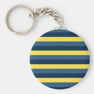 easts basic round button keychain