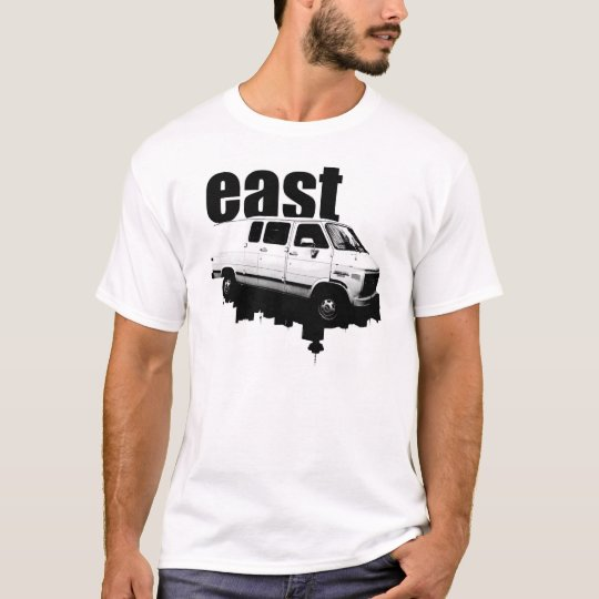 eastVAN Skyline WHITE T-Shirt