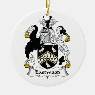 Eastwood Family Crest Ceramic Ornament