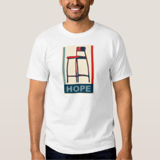 Eastwooding Invisible Obama Chair of Hope T-shirts