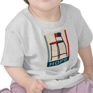 Eastwooding Invisible Obama Chair of Hope T Shirts