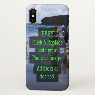 Easy Click and Replace Photo to Create Your Own iPhone X Case