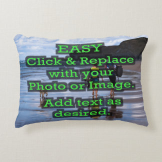 Easy Click & Replace Image to Create Your Own Accent Pillow