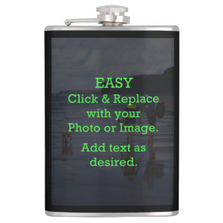 Easy Click & Replace Image to Create Your Own Flasks