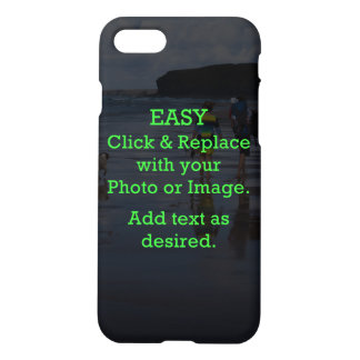 Easy Click & Replace Image to Create Your Own iPhone 8/7 Case