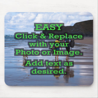 Easy Click & Replace Image to Create Your Own Mouse Pad