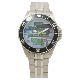 Easy Click & Replace Image to Create Your Own Watch