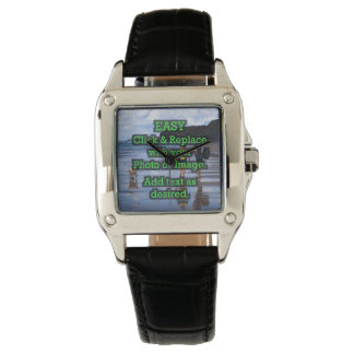 Easy Click & Replace Image to Create Your Own Wrist Watch