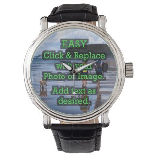 Easy Click & Replace Image to Create Your Own Wristwatch