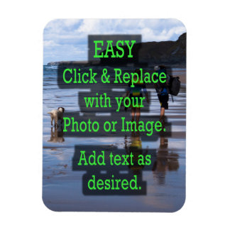 Easy Click to Create Your Own Vertical Magnet