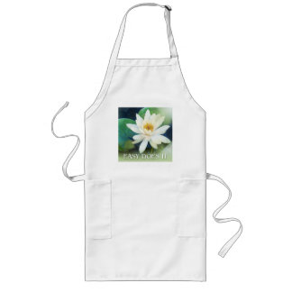Easy Does It Lotus One Long Apron
