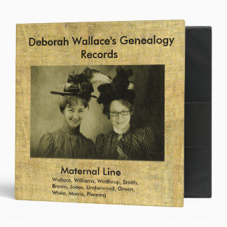 Easy Genealogy Record Keeping Binder