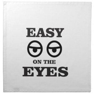 easy on the eyes napkin