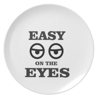 easy on the eyes plate