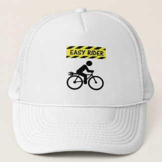 """""""Easy rider"""" ebike cycling caps for him and her"""