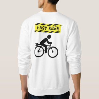 """""""Easy rider"""" ebike cycling sweat shirts for men"""