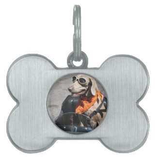 Easy rider pet name tag
