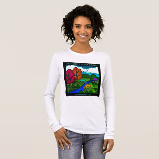 Easy Street Horse Pastures Long Sleeve T-Shirt