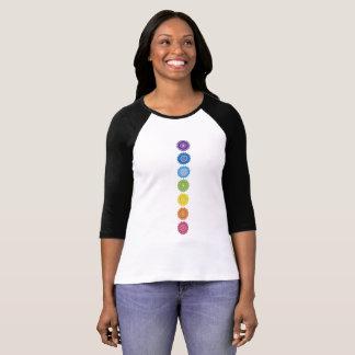 Easy to love chakras mandalas shirt