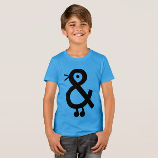 Easy to love tshirt for kids with a bird