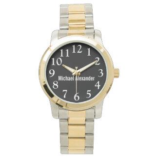 Easy to Read Men's Wrist Watch