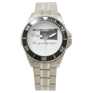 EasyFlap Stainless Steel Watch