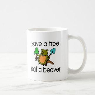 Eat A Beaver Coffee Mug