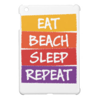 Eat Beach Sleep Repeat Cover For The iPad Mini