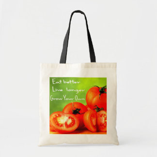 EAT BETTER LIVE LONGER TOTE BAG
