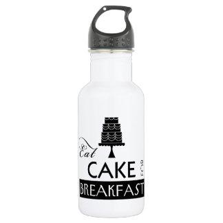 Eat Cake for Breakfast 18oz Water Bottle