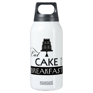 Eat Cake for Breakfast SIGG Thermo 0.3L Insulated Bottle