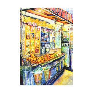 Eat Canvas Print
