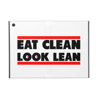 Eat Clean Look Clean iPad Mini Cover