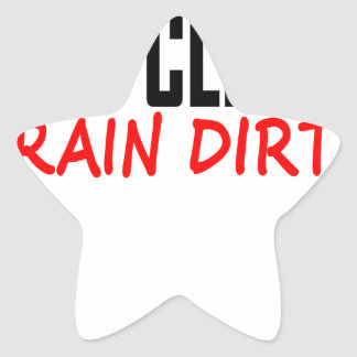 Eat Clean Train Dirty T Shirts KL.png Sticker